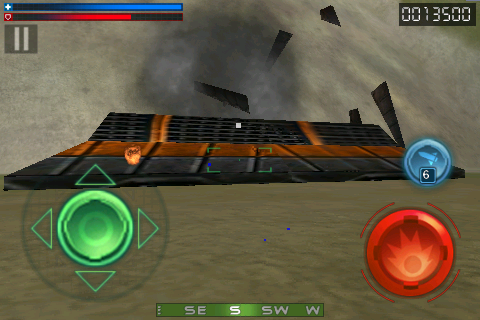 Screenshot Tank Recon 3D